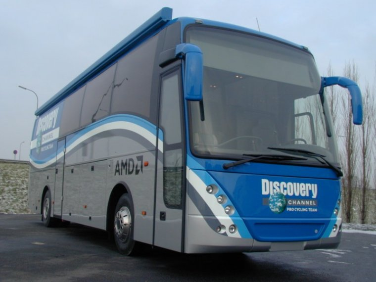 Discovery Channel Pro Cycling Team bus