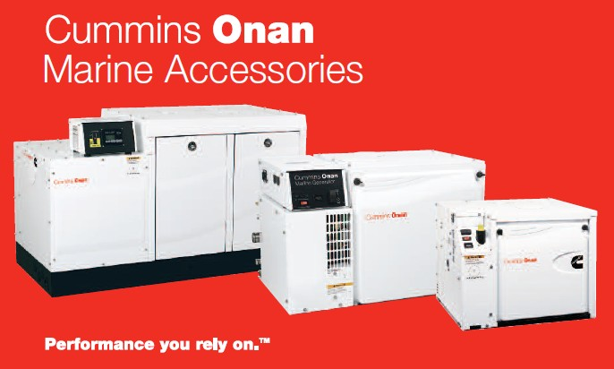 Onan marine generators accessories