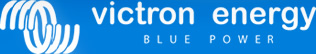 Victron logo blue power